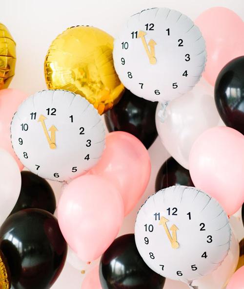 Ballons horloges