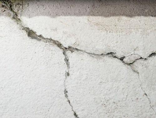 Fissure de mur