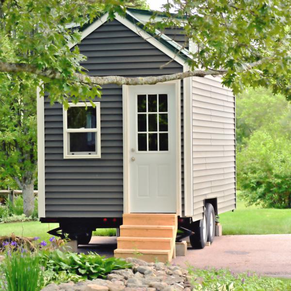 Tiny house en récup'