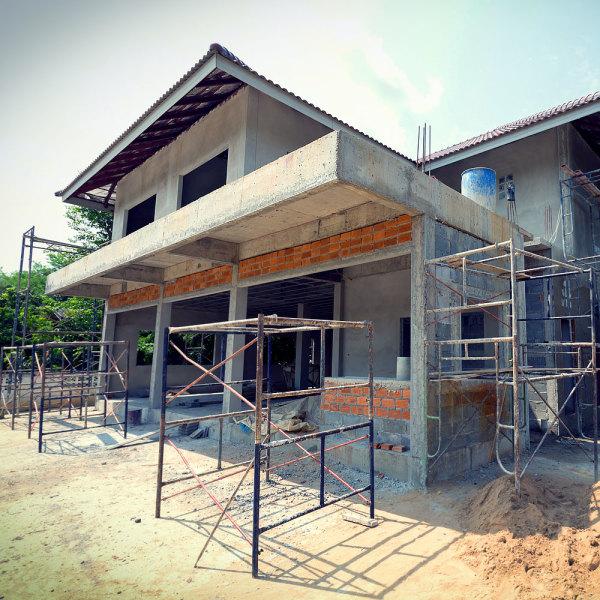 Étapes construction maison
