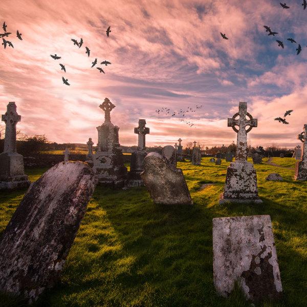 Maison sur cimetière