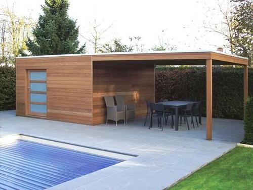 Abri de jardin toit plat : 5 idées d\'abris design et modernes