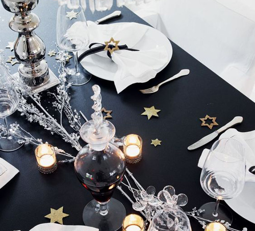 Déco de table du Nouvel An 2020  les 9 plus belles inspirations