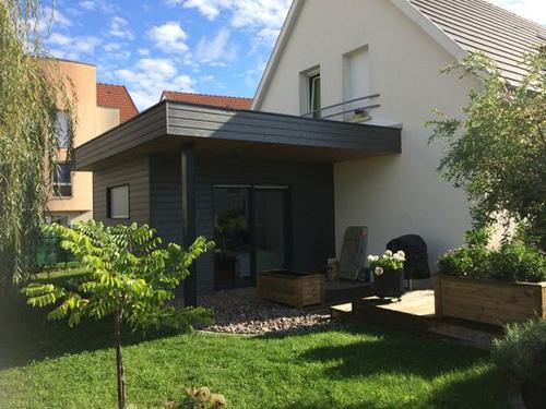 Abri de jardin extension de maison
