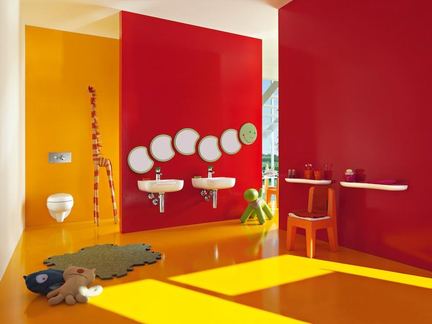 aménager une salle de bain pour enfants | habitatpresto - Salle De Bain Enfants