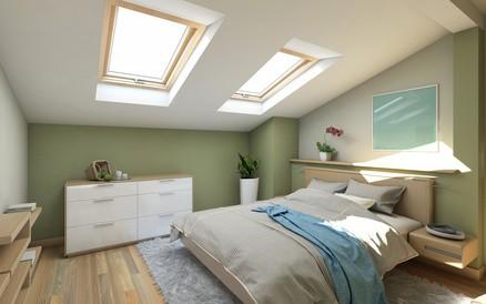 Rehausser et modifier une pente de toiture habitatpresto - Amenagement chambre 20m2 ...