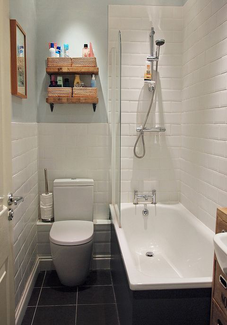 Petite salle de bain 4 astuces pour bien optimiser l for Agencer une salle de bain