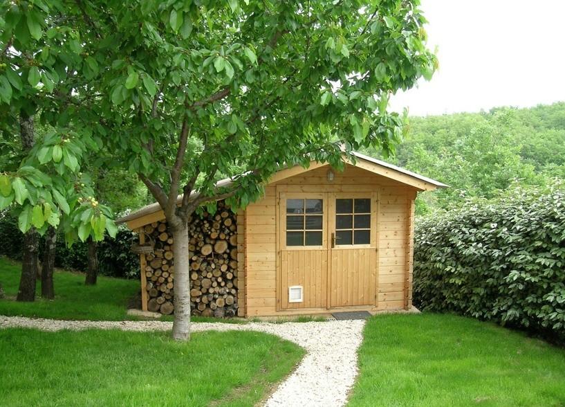 extension de maison en bois sans permis de construire ralisation garage ossature bois les. Black Bedroom Furniture Sets. Home Design Ideas