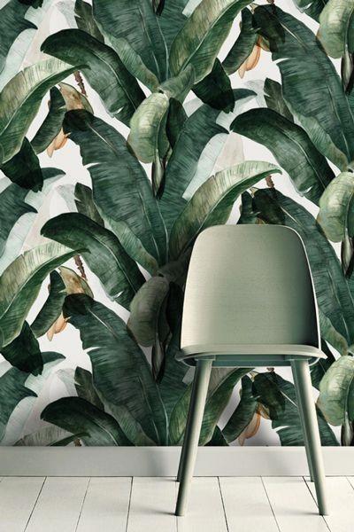 Papier peint jungle Madebylemon