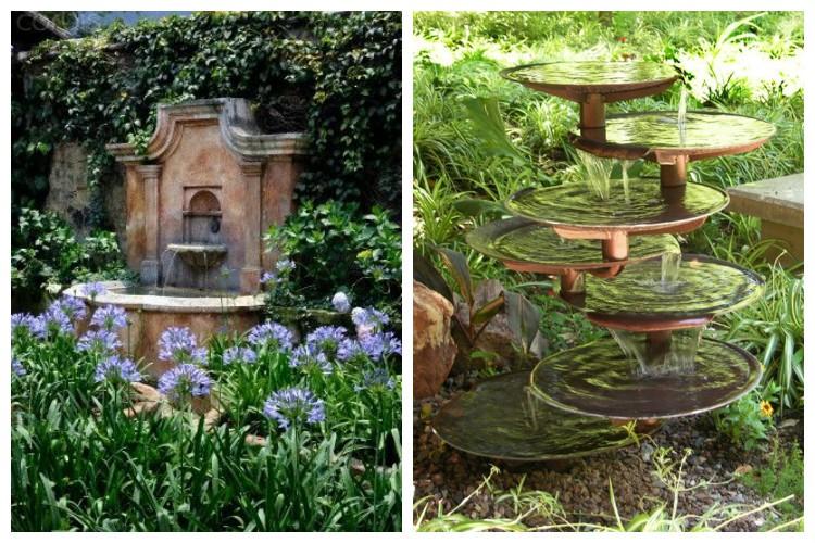 Fontaines et cascades de jardin : les meilleures inspirations déco