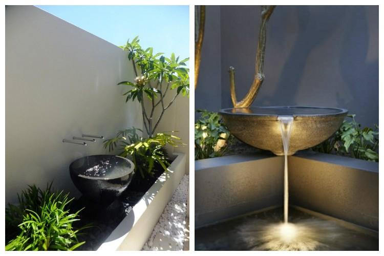 Fontaine de jardin pinterest