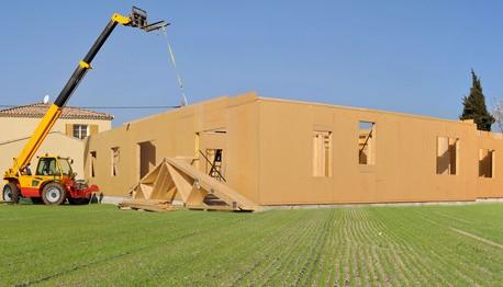 maison bois panneau massif panneau structurel
