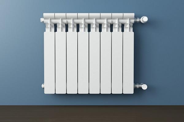 Radiateur gaz en aluminium