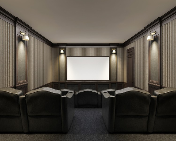 am nager une salle de cin ma chez soi habitatpresto. Black Bedroom Furniture Sets. Home Design Ideas
