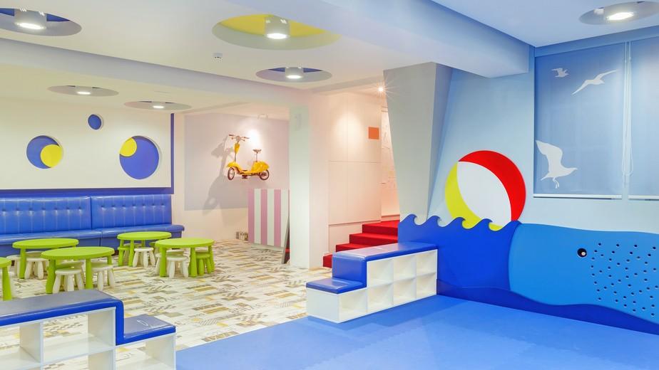 Salle de jeux enfants Copyright Fotolia Ides