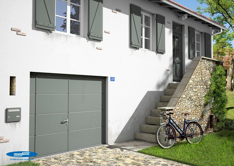 Choisir sa porte de garage les options habitatpresto - Porte sectionnelle novoferm ...
