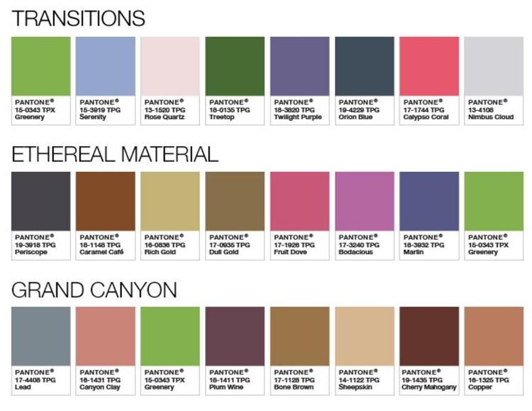 Et la couleur pantone de l 39 ann e 2017 est habitatpresto for Couleur feng shui salon