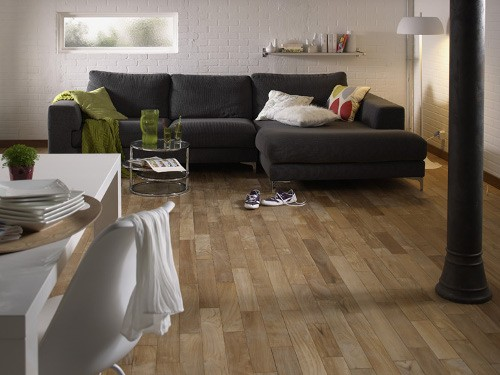 Parquet flottant salon limoges design - Carrelage salon leroy merlin ...