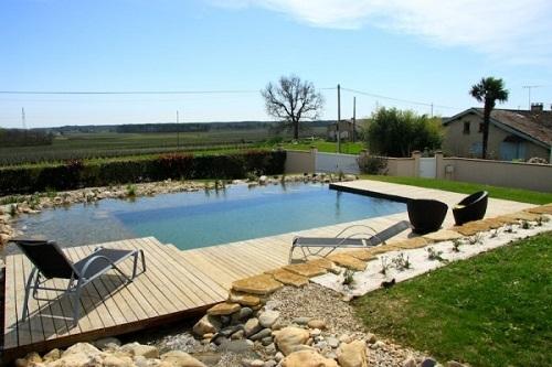 Piscine naturelle prix avantages d 39 une piscine sans chlore - Piscine ecologique prix ...