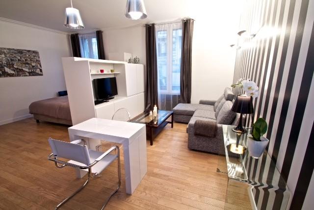 Chantier r novation compl te d 39 un studio habitatpresto - Relooking appartement avant apres ...