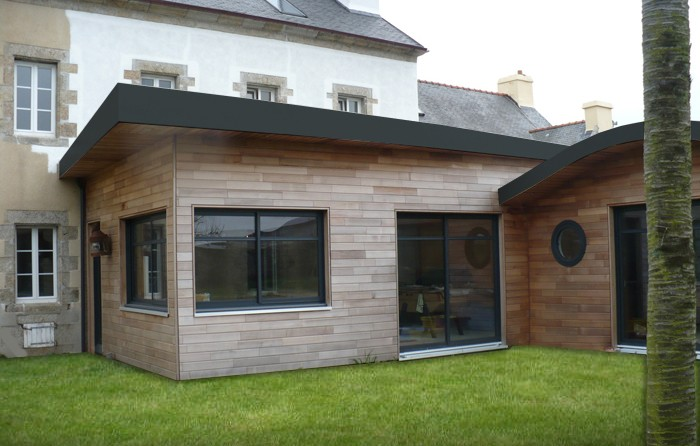 Construire une extension construire une extension de for Agrandissement maison besoin architecte