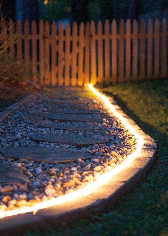 éclairage extérieur de jardin