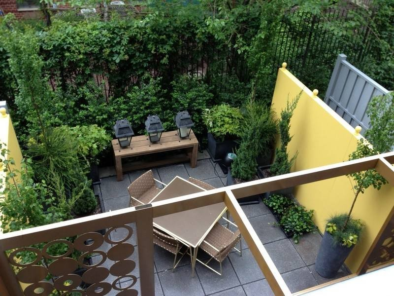 Id es pour am nager un jardin de ville habitatpresto for Amenagement jardin maison