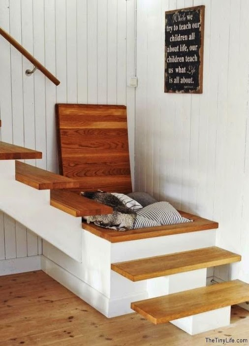 Id es pour am nager des rangements sous escalier habitatpresto - Amenagement dessous escalier ...