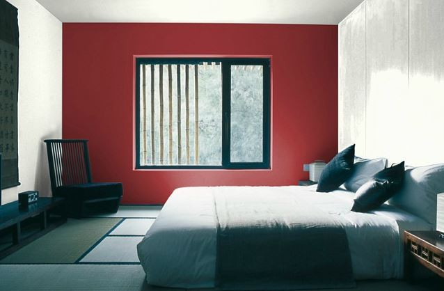 Couleur peinture satinee pour chambre avec des id es int ressantes pour la for Peindre un mur de couleur dans une chambre