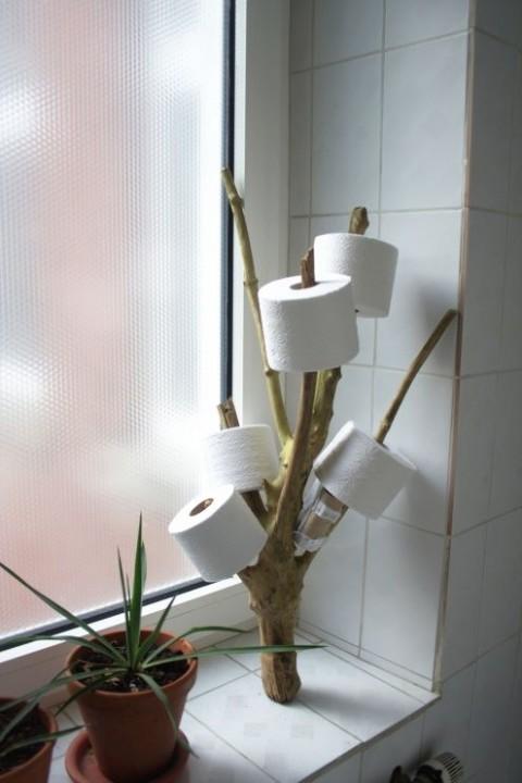 Porte papier toilette original 7 id es que vous allez adorer habitatpresto - Deco originele toiletten ...