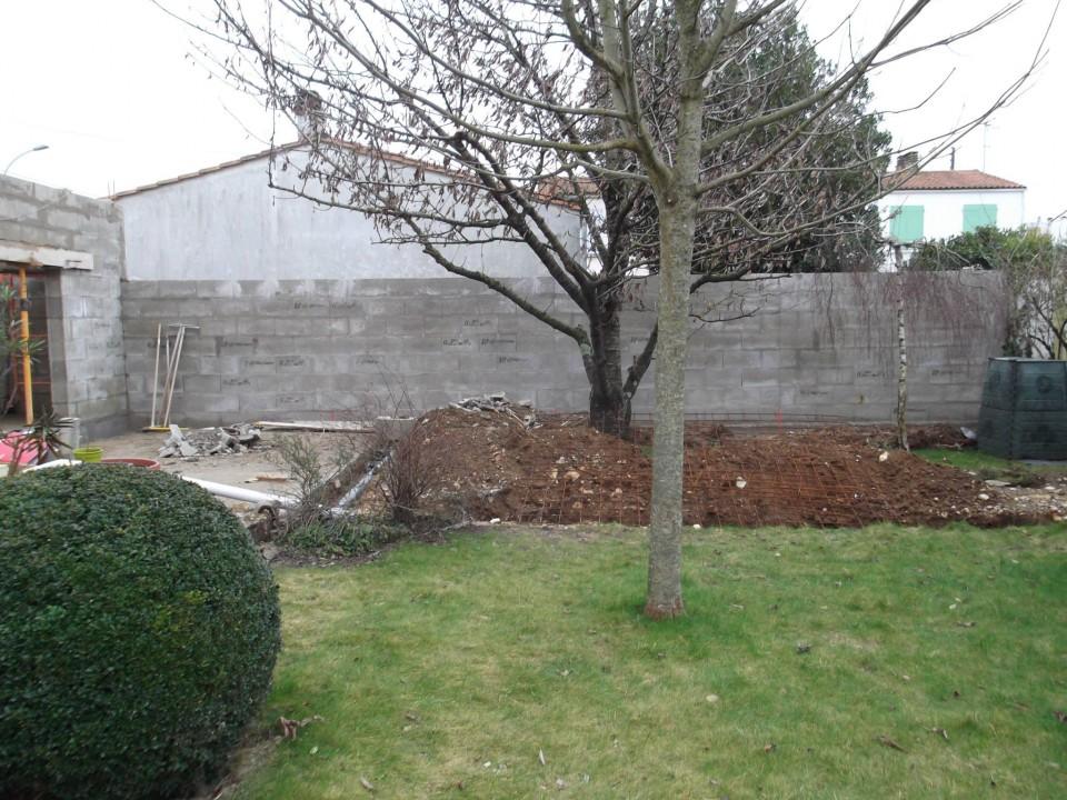 Extension garage en dur avril 2015 habitatpresto for Habitat jardin 2015