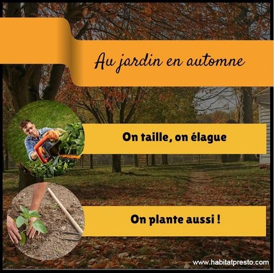 Automne jardin et potager