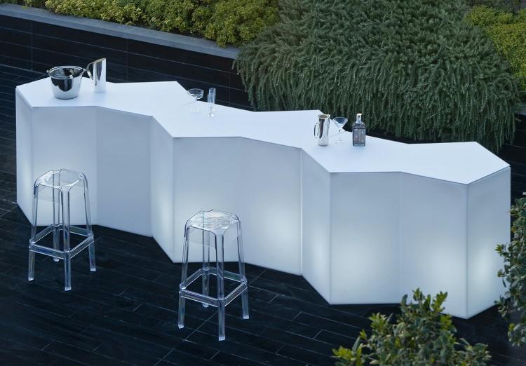creer un comptoir bar cuisine amnage en l au milieu du jardin cette cuisine du0027t avec plan. Black Bedroom Furniture Sets. Home Design Ideas