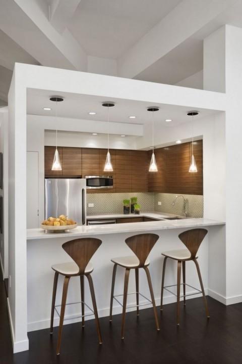 8 bonnes raisons d\'aménager un bar dans la cuisine | Habitatpresto