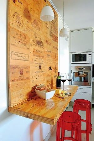 idée aménagement de bar dans cuisine