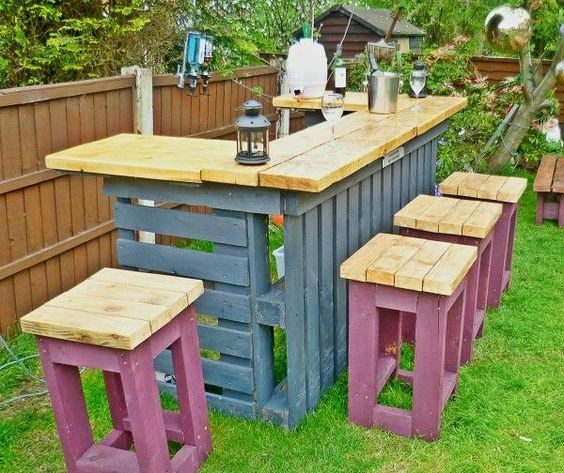 Id es d 39 am nagement de bar de jardin habitatpresto - Articles de jardin ...