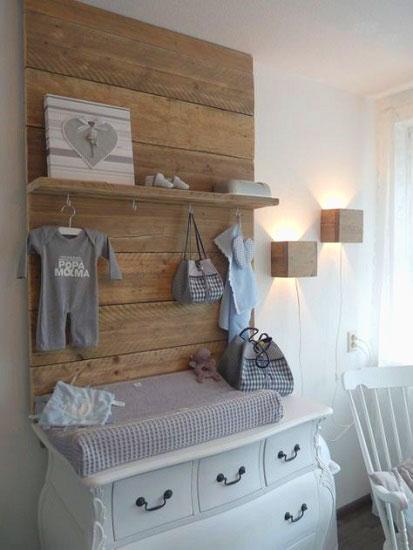 Chambre bébé en bois