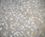 terrasse béton bouchardé