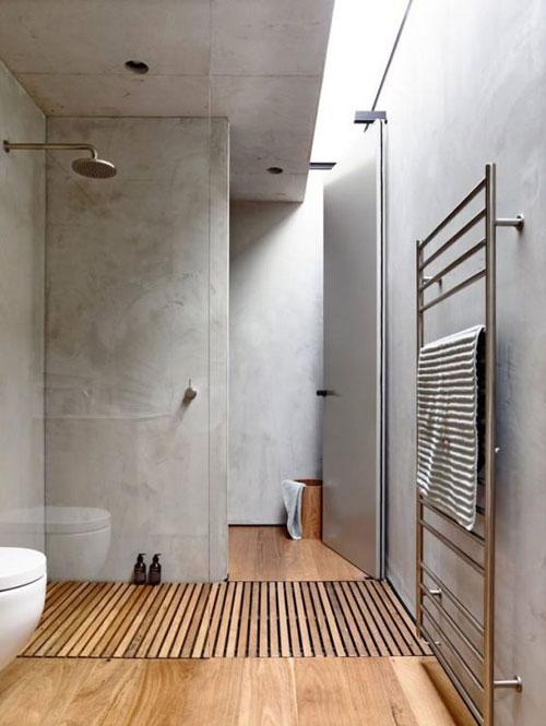 enduit mural salle de bain beton_sdb1