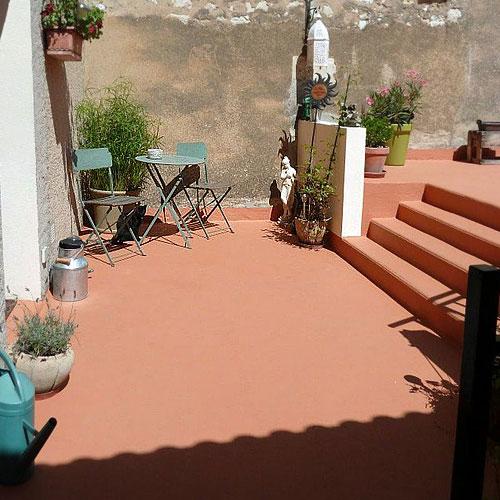Etanchéité terrasse béton