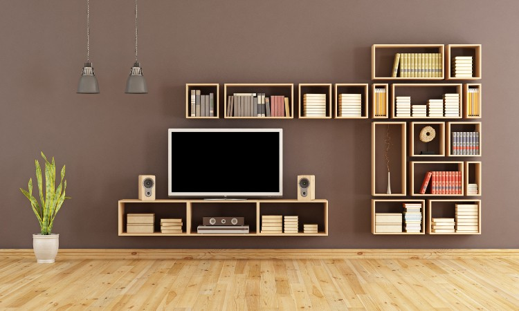 comment fabriquer sa biblioth que sur mesure habitatpresto. Black Bedroom Furniture Sets. Home Design Ideas