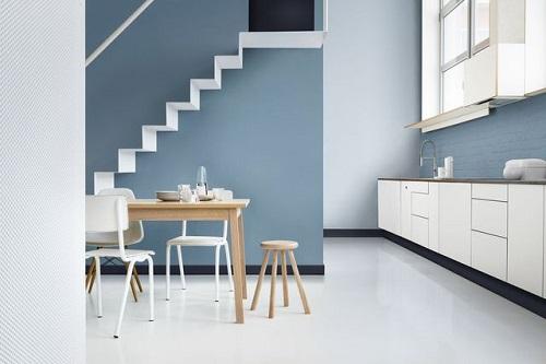 Cuisine blanche : quelle couleur choisir pour les murs ?