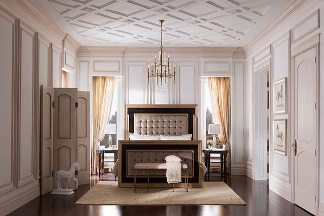 Comment d corer et colorer son plafond habitatpresto for Hotel avec miroir au plafond