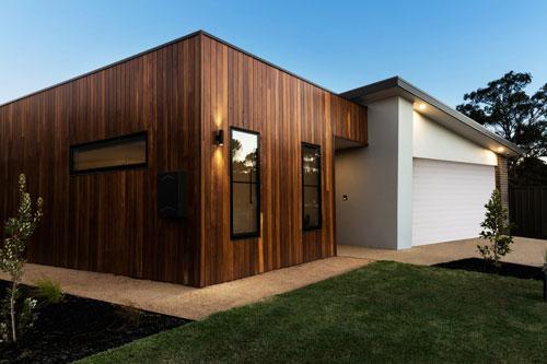 maison bois et béton