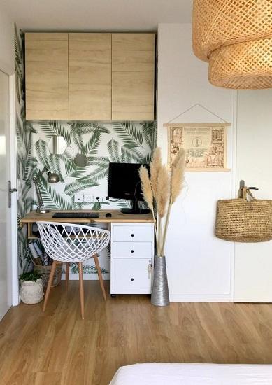 Salon/Chambre : 10 idées déco pour aménager un coin bureau