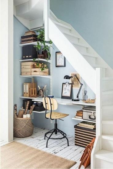 Bureau sous escalier 4
