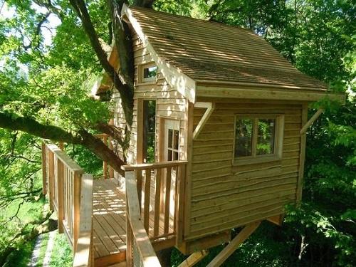 Construire une cabane dans un arbre le guide - Construire cabane jardin ...