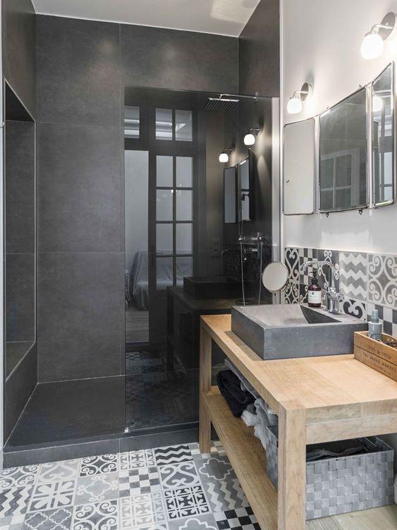 salle de bains moderne et design 23