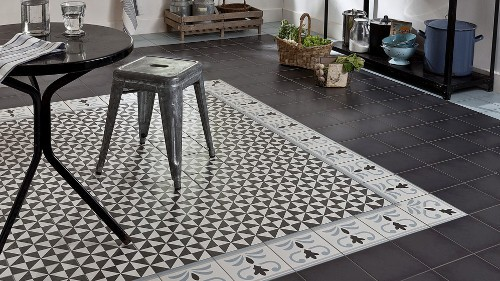 Carrelage au sol tout savoir habitatpresto for 2 carrelage different