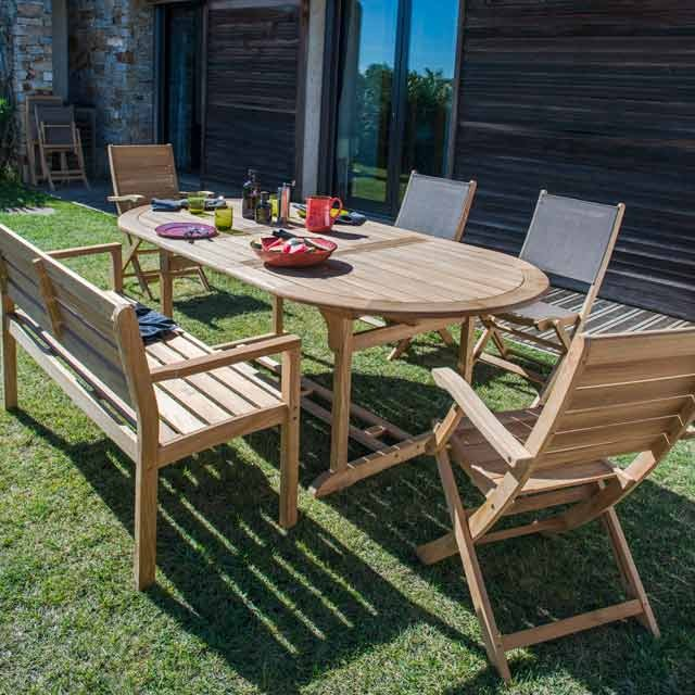Comment choisir son mobilier de jardin habitatpresto for Salon de jardin castorama